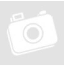 Zuhanyfüggöny 12 db zuhanyfüggöny karikával, 1800x2000 mm, 0,1 mm vastagsággal, fekete-fehér négyzetes mintával